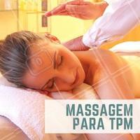 Pra você que sofre muito com a TPM, nós temos a massagem perfeita! Relaxante e aliviadora do stress, ainda deixa a pele hidratada e macia, pra você se sentir bem com você mesma nesse período. Agende seu horário! #tpm #ahazou #massagem #esteticacorporal
