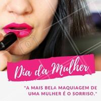 Feliz Dia da Mulher para todas às minhas clientes lindas! 😘 #DiaDaMulher #Ahazou #MesDaMulher