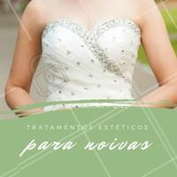 Vai casar? Prepare-se pro seu grande dia conosco! Vai ser um prazer te deixar a noiva mais linda de todas. 👰 #noiva #esteticacorporal #ahazou #estetica