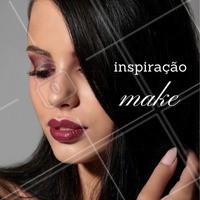 Que tal essa inspiração de make? 😍 #maquiagem #makeup #ahazou #inspiracao #ilovemakeup