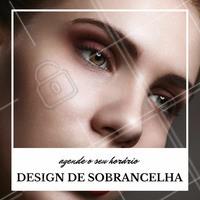 Venha fazer o seu design e se apaixone pela sua sobrancelha! #designdesobrancelha #ahazou #sobrancelha