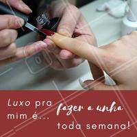 Quem concorda? 🙋 Já agendou o horário dessa semana? #unha #esmalteria #ahazou #esmalte #manicure