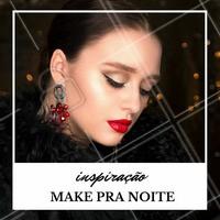 Que tal essa maquiagem pra noite? 😍 #makeup #maquiagem #inspiracao #ahazou