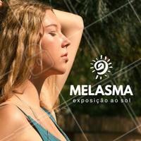 As manchas na pele ,de um modo geral , podem tornar -se mais  evidentes após a exposição solar ☀, pois a radiação UV, o infravermelho (calor) e a luz visível estimulam os melanócitos a produzir melanina. O melasma é o excesso de liberação de melanina pelos melanócitos, a pele do rosto costuma ser mais afetada por essa disfunção  justamente por estar mais exposta a luz  (sol e fontes artificiais). Agende agora uma avaliação e te ajudaremos a reduzir as suas manchas de pele. #melasma #manchasdepele #autoestima #ahazou #tratamentofacial #beleza #estetica #pelesaudavel