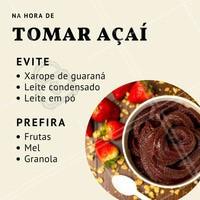 Quem não gosta de um açaí geladinho? Essa preciosidade do Brasil pode ser muito saudável na nossa alimentação, mas olha só as dicas de como tirar o maior proveito dele! 😉 #acai #ahazou #alimentacaosaudavel #vidafitness