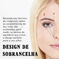 Essa é a vantagem de realizar um design de sobrancelha com uma profissional! Quer destacar seu olhar e trazer mais simetria para o seu rosto? Agende seu horário! 📱 #designdesobrancelha #ahazou #sobrancelha