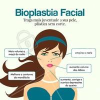 A bioplastia facial tem como objetivo harmonizar os traços que compõe o rosto. Com ele é possível preencher depressões naturais da face como bigode chinês, código de barra, linha de marionete, trazer mais volume a maçã do rosto e lábios, recuperando o contorno envelhecido e dando destaque aos melhores ângulos da face. São utilizados materiais seguros e absorvíveis. Por tudo isso, é considerado uma plástica sem cortes! #ahazou #bioplastiafacial #botox #preenchimentofacial #preenchimentolabial #esteticafacial #bioplastia #beleza #autoestima