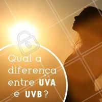 Os raios ultravioletas (UV) são os raios de luz emitidos pelo sol. Entre esses raios, existem dois tipos: os raios UVA, que atingem as camadas mais profundas da pele e são responsáveis pelo envelhecimento solar e outros danos. E os raios UVB, que atingem camadas superficiais e são responsáveis pelas queimaduras solares, que causam vermelhidão. Por isso é tão importante se proteger desses dois tipos de raios com protetores que contenham os dois fatores de proteção 😉 #sol #ahazou #protetorsolar #cuidadoscomaepele #envelhecimento