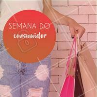 Escreva aqui suas promoções da semana do consumidor e use nosso editor pra colocar os preços! 😊 #Semanadoconsumidor #ahazou #diadoconsumidor