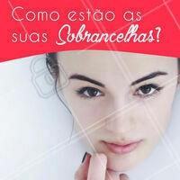 E aí? Não vai esquecer de agendar seu horário, hein? 📱 #designdesobrancelha #ahazou #sobrancelha