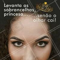 Coroa? Aqui não, o que importa mesmo é o olhar! 🤣 #designdesobrancelha #ahazou #sobrancelha #meme
