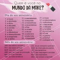 Vamos brincar? Comenta aí o seu resultado! 🤣 #maquiagem #makeup #ahazou