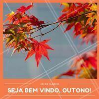 Hoje, 20 de março, começa o Outono! 🍂💗🌲 #outono #ahazou