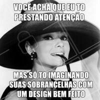 Ops! Só quem é designer de sobrancelha vai entender 🤣 #designdesobrancelha #ahazou #sobrancelha #meme