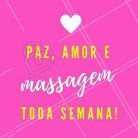 A receita da felicidade! 🙏 #massagem #ahazou #esteticacorporal