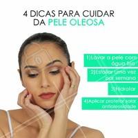 Esses são passos essenciais para cuidar de uma pele oleosa!  #peleoleosa #ahazou #cuidados #cuidadoscomapele