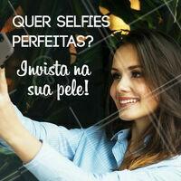 Nada deixa uma selfie mais linda do que uma pele perfeita 💁 Invista na beleza da sua pele e veja os resultados! #pele #ahazou #cuidadoscomapele #limpezadepele #esteticafacial