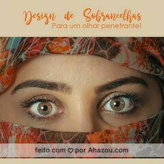 Agende já o seu horário!  #design #sobrancelha #ahazou #olharpenetrante