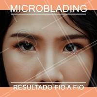 Microblading é uma técnica de preenchimentos dos pelos com precisão, fio a fio. Agende o seu horário para garantir sobrancelhas lindas e preenchidas!  #microblading #ahazou #designdesobrancelha #sobrancelha
