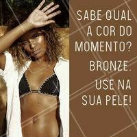 Venha se bronzear e adquira a cor dos seus sonhos! 😏 #bronzeamento #ahazou #bronzeamentonatural
