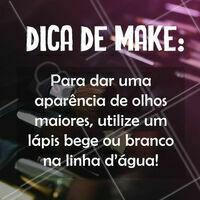 Dica de make boa pra vocês 😏 #maquiagem #ahazoumaquiagem #Makeup  #ahazou