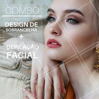Hoje é dia de COMBO, aproveite! 🤗  #designdesobrancelha #ahazou #combo #promoção
