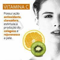 Use e abuse dos benefícios dessa vitamina! 🍊 #vitaminac #ahazou #cuidadoscomapele