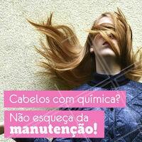 É indispensável fazer a manutenção no salão, além dos cuidados em casa! 💇 #cabelo #ahazou #cuidadoscomocabelo