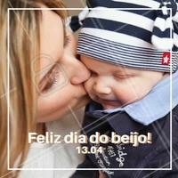 Hoje é dia do beijo, beije quem ama! ❤️️  #diadobeijo #ahazou