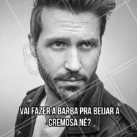 Não vai estragar um beijão só porque não fez a barba né?  #diadobeijo #ahazou