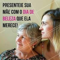 Sua mãe merece ficar ainda mais linda! Conte com nossa ajuda para embelezar você e sua mãe 💇 #diadasmaes #ahazou #salaodebeleza #cabelo
