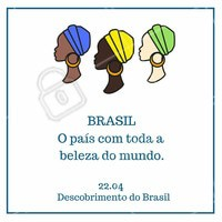 Um ótimo dia do Descobrimento do Brasil!  #descobrimentodobrasil #ahazou