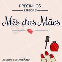Você e sua mãe merecem! Venham aproveitar nossos descontos especiais e ficar ainda mais lindas: tal mãe, tal filha 😍💅 #manicure #ahazou #diadasmaes #mesdasmaes