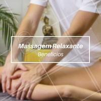 Os principais benefícios da massagem relaxante são: Combate ao stress e ansiedade, combate a depressão, hidratação da pele, redução de tensão muscular, estimulação da circulação sanguínea e linfática, eliminação de toxinas e resíduos metabólicos e melhor na resposta imunológica! Uma bela manutenção na saúde né?  #massagemrelaxante #ahazou #saude