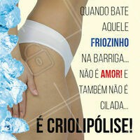 Venha eliminar a gordura localizada através da Criolipólise: um método não invasivo que congela a gordurinha! ⛄ #criolipolise #ahazou #gorduralocalizada