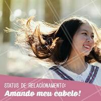 Não tem sensação melhor que essa! ;) #cabelo #ahazou #salaodebeleza #amorproprio #autoestima
