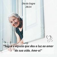 O povo só fala mal das sogras, aqui a gente valoriza! Ame a mãe do amor da sua vida! ❤️️  #diadasogra #ahazou