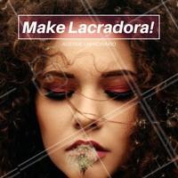 Você vai sair por aí arrasando na make! #make #ahazou #maquiagem #maquiadora