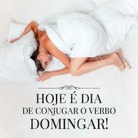 O que você faz no domingo? #preguiça #domingo #ahazou #descanso #fimdesemana #cama