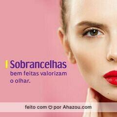 Com as sobrancelhas bem feitas, você valoriza e muito o seu olhar. #sobrancelhas #designdesobrancelhas #olhar #beleza #ahazou
