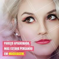 """Você também fica """"viajando"""" pensando em qual maquiagem que vai comprar? #makeup #maquiagem #beleza #ahazou #autoestima #consultora"""