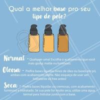 Dicas pra quem não sabe qual base comprar! 😱 #base #ahazou #maquiagem #consultoradebeleza #beleza