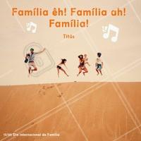 Quando está todo mundo junto, tem bagunça, tem briga, tem risadas e tem muito amor. Família é família. Feliz dia Internacional da Família. <3 #família #diaespecial #ahazou #felicidade