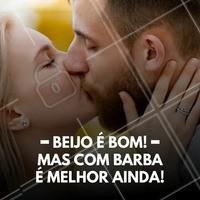 Marque aqui o crush que gosta do seu beijo com barba! #barbearia #barba #ahazou #beijo #bemestar #beijarébom #barbaterapia