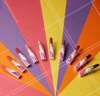 Com a nova AVON ColorTrend, tem muuuiita opção de batom pra escolher. Papaia, Rosa Escuro, Pimenta, Rosa Claro, Cocada, Groselha, Chocolate, Vinho, Amora e Violeta… TUDO MATTE! #EaiTaPronta? #ahazouavon #maquiagem #avon #ahazou #colortrend #batom