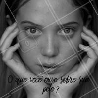 Conta pra gente! #conta #ahazou #pele #cuidados