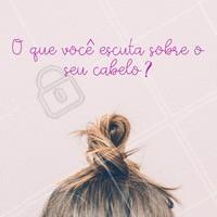 Conta pra gente! #conta #ahazou #cabelo