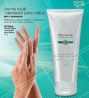 Com o Creme Multi-Clareador para as Mãos, é possível melhorar a textura da pele deixando-a com um tom mais uniforme.  #renewclinical #ahazouprime #tratamento #ahazou #mãos #pele #cuidados