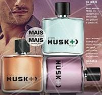 Musk +,  mais concentração , mais duração. Perfeito para  o dia dos namorados.  #musk #musk+ #ahazouavon #perfume #ahazou #avon