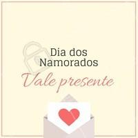 Use esse vale-presente para presentear seu amor com nossos serviços! 😍 #diadosnamorados #ahazou #beleza #valepresente #amor